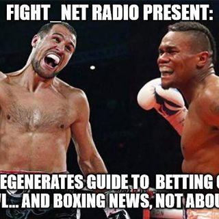 "(Part 2 of 3) FNR LIVE 2/2/19 ""Fight_Net Radio's 'Degenerates Guide to #SuperBowlBetting... and some #boxing news (not about #Kovalev)"