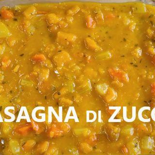 Lasagna di Zucca senza Besciamella youtube rapanello