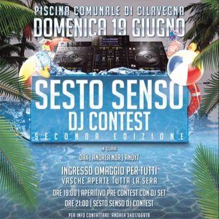 Sesto Senso Dj Contest - II edizione - Radio Ciadd News