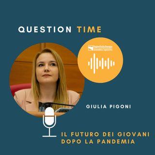 QT#15 Giulia Pigoni - Il futuro dei giovani dopo la pandemia