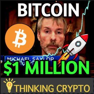 Bitcoin To $1 Million As MicroStrategy Raises $400M For Buying Bitcoin & Ric Edelman Bitcoin ETF