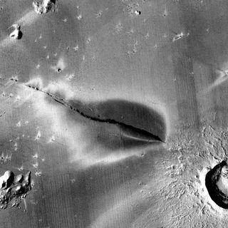 646-Young Martian Volcanoes