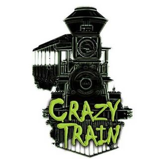 We're Riding the Rails of the Crazy Train