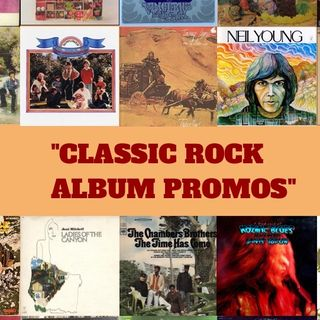 Steve Ludwig's Classic Pop Culture # 135 ~ Classic Rock Album Promos
