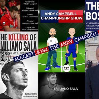 ACEcast #184 Andy Campbell Show with Special guest Journalist & Best Selling author Harry Harris #Sala