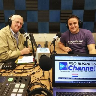 Andrew Levison and Graham Levitas with Mag-nificent on the Buckhead Podcast
