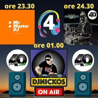 """Radio 40 """"LA NOTTE DEGLI DEI""""  Venerdì notte 19/02/2021"""