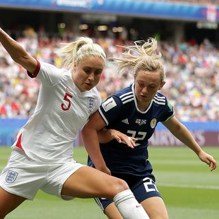 England survive Scotland fightback at Women's World Cup
