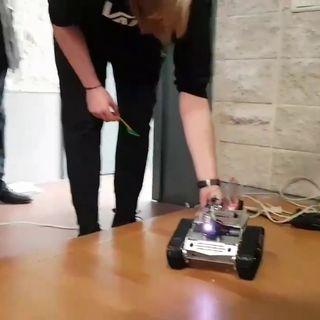 Un robot tra i filari