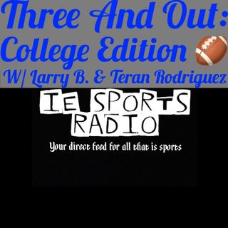 Three And Out: College Edition