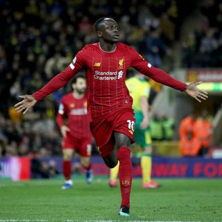 Super-sub Mane gives Liverpool narrow win at Norwich