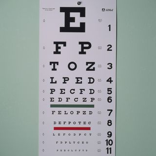 Joke of the Day-A man questions his eyesight-but doctor doesn't see the issue