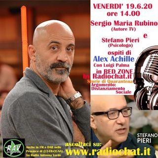 """Sergio Maria Rubino e Stefano Pieri ospiti di Alex Achille in """"RED ZONE"""" by Radiochat.it"""