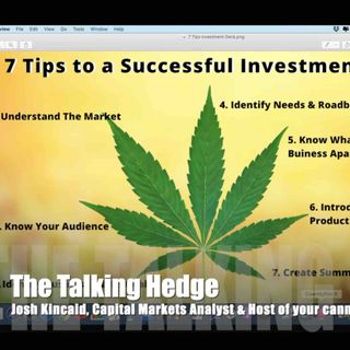 Canopy Growth Pitch Deck Review (2020)