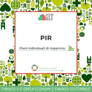 10. PIR: Novità e Opportunità per la Crescita del Paese