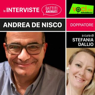 ANDREA DE NISCO su VOCI.fm - clicca PLAY e ascolta l'intervista