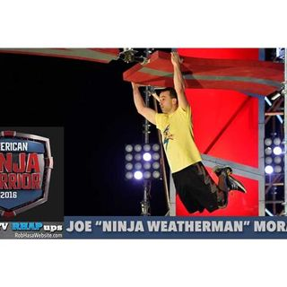 "American Ninja Warrior | Joe ""Ninja Weatherman"" Morvasky Interview"