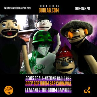BEEP BOP BOOM BAP CARNAVAL! LEALANI with The Boom Bap Kids | Beats of All-Nations Radio 056