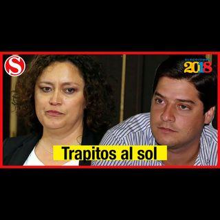 El tenso cara a cara entre Angélica Lozano y Mauricio Gómez Amín
