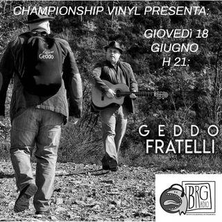 1570 - Championship Vinyl presenta Fratelli