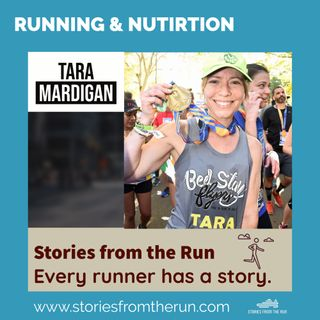 Marathoning & Nutrition & Banana Peels with Tara Mardigan!!!