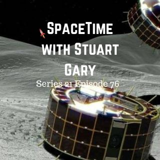 76: Japan lands on the asteroid Ryugu - SpaceTime with Stuart Gary Series 21 Episode 76