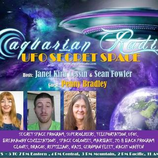 Penny Bradley, Sean Fowler, Janet Lessin ~ 08/07/19 ~ UFO Secret Space ~ Panel ~