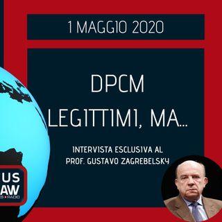 BREAKING NEWS – DPCM LEGITTIMI, MA… – PROF. GUSTAVO ZAGREBELSKY