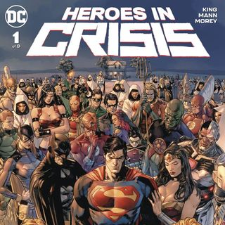 Source Material #228 - Heroes In Crisis (DC, 2018)