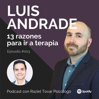 003 Trece razones para ir a terapia - Luis Andrade