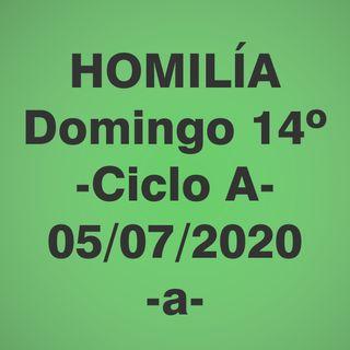 Homilía - Domingo 14 - 5 julio 2020 -1