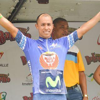 Jaime Castañeda ganador etapa 3 Vuelta al Valle