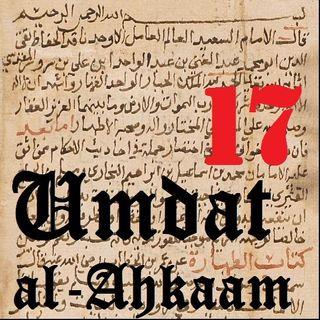 UA17 Tayammum (Using the Ground for Purification) Part 2