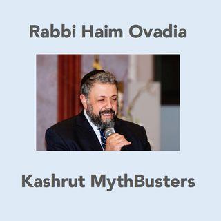Glatt Kosher Meat Letter from Rav Messas (081415)  #8 Kashrut MythBusters Rabbi Haim Ovadia