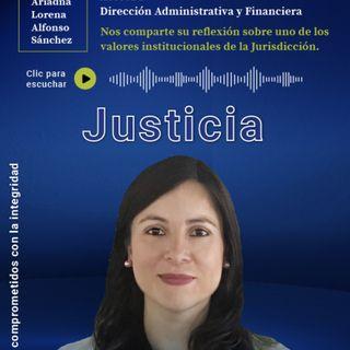 9. JUSTICIA | Ariadna Alfonso, asesora de la Dirección Administrativa y Financiera de la JEP | EPISODIO 9