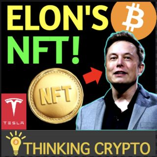 Elon Musk Sells NFT - Tesla Master Of Coin - BTC Best Asset - Investview $1M in Crypto -