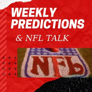 Week 6 predictions, NFL 2019