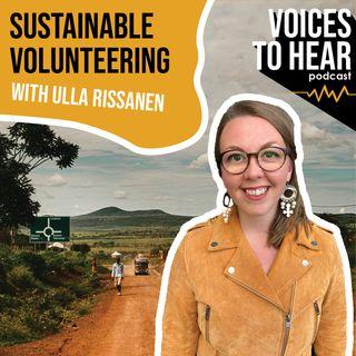 Sustainable Volunteering with Ulla Rissanen