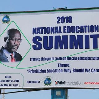Liberia's President George M. Weah Remark at the 2018 National Education Summit