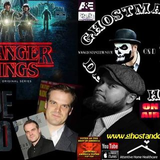 Stranger Things W/David Harbour & GhostMan&Demon Hunter
