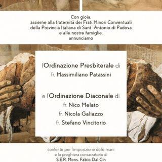 20191123 - Ordinazioni al Santo
