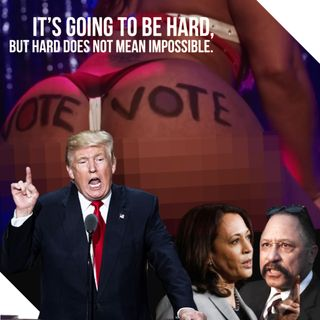 GET YO BOOTY TO THE POLL vs JUDGE JOE BROWN (mature AUDS ONLY) listen NOW .. ELECTION MADNESS