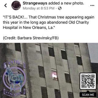 Charity Hospital Chirstmas Lights