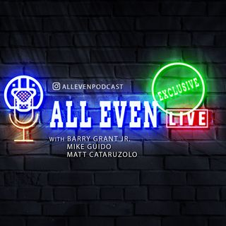 All Even Live EXCLUSIVE Episode 10 with JP Hoops Pod host Justin Paura