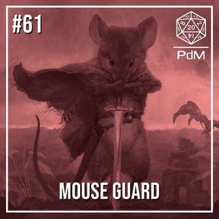 Podcast de Mesa #61 - Mouse Guard
