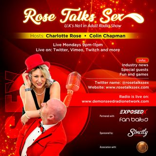 Rose Talks Sex with hosts @_charlie_rose special guest @jessiejoxxx partn @fanbaits