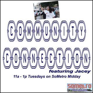 Community Connection Radio Show ft Jacey S4E6 Aug 22 2017