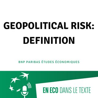 #01 – Geopolitical risk: definition