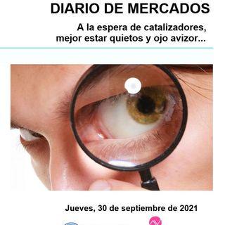 DIARIO DE MERCADOS Jueves 30 Sept