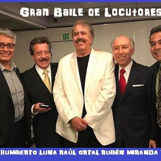 BAILE DE LOCUTORES EN VIVO UNA NOCHE ¡INOLVIDABLE!
